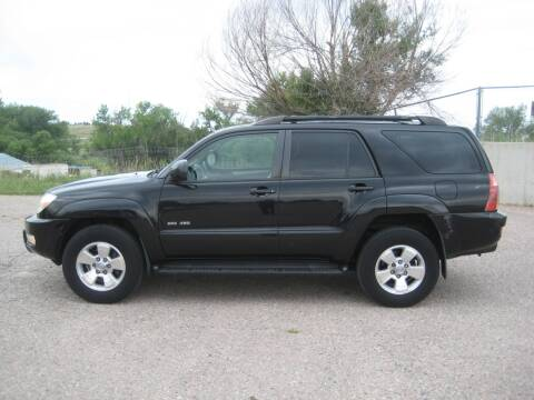 2005 Toyota 4Runner for sale at HOO MOTORS in Kiowa CO