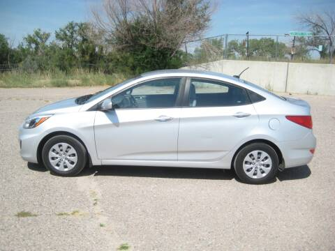 2017 Hyundai Accent for sale at HOO MOTORS in Kiowa CO