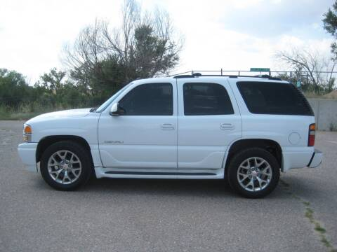 2004 GMC Yukon for sale at HOO MOTORS in Kiowa CO
