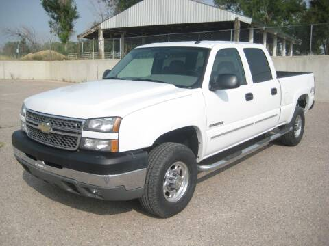 2005 Chevrolet Silverado 2500HD for sale at HOO MOTORS in Kiowa CO