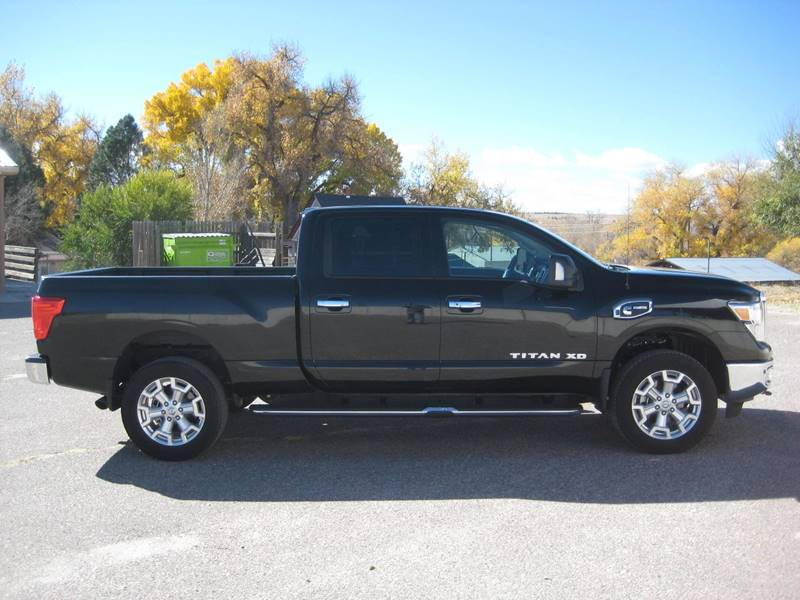2016 nissan titan xd 4x4 sv 4dr crew cab pickup diesel in kiowa co hoo motors. Black Bedroom Furniture Sets. Home Design Ideas