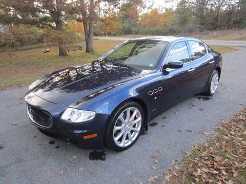 2007 Maserati Quattroporte for sale at American Muscle in Schuylerville NY