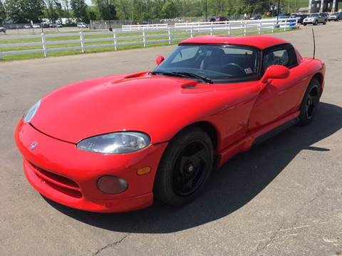 1993 Dodge Viper for sale at American Muscle in Schuylerville NY