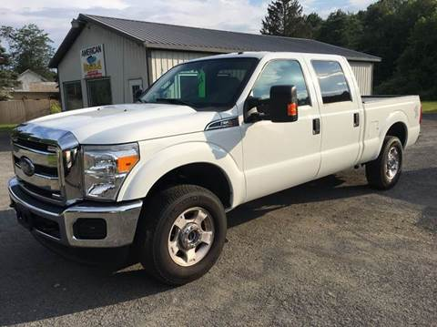 2016 Ford F-250 Super Duty for sale at American Muscle in Schuylerville NY