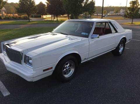1983 Chrysler Cordoba for sale in Schuylerville, NY