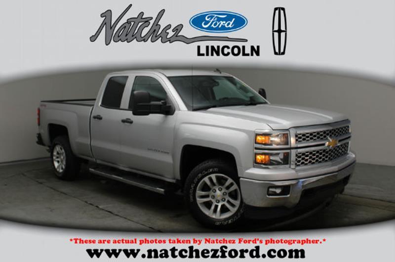 Chevrolet Silverado In Natchez MS Natchez Ford Lincoln - Chevrolet lincoln