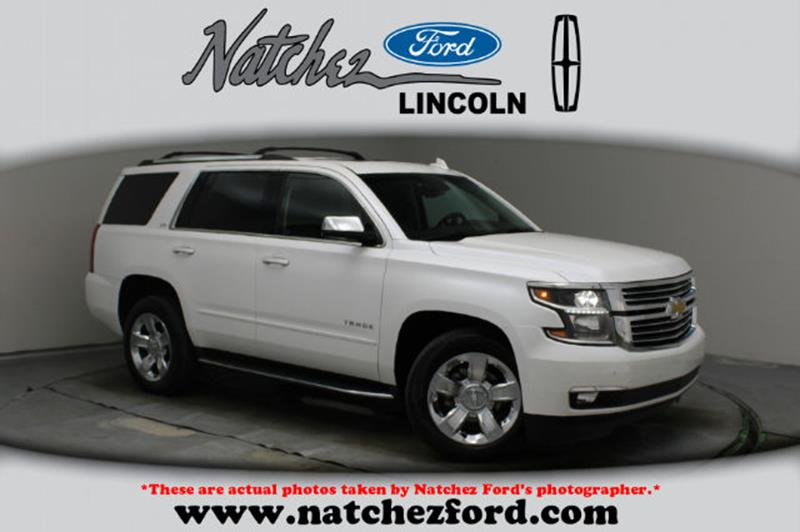 Chevrolet Tahoe LTZ In Natchez MS Natchez Ford Lincoln - Ford lincoln