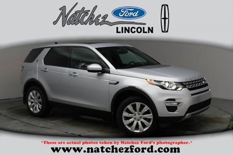 2016 Land Rover Discovery Sport for sale in Natchez, MS