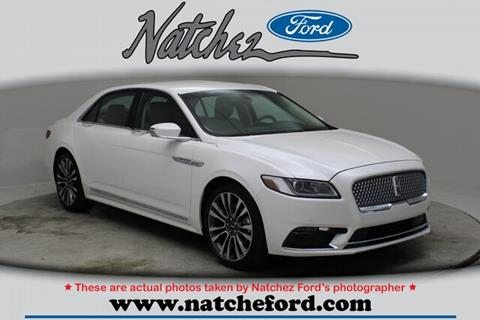 2018 Lincoln Continental for sale in Natchez, MS