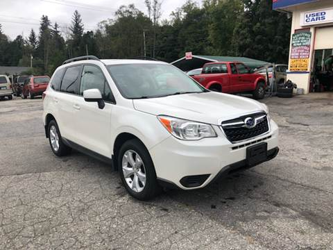 2015 Subaru Forester for sale at Rooney Motors in Pawling NY