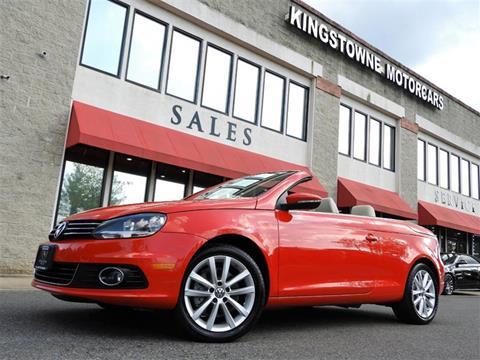2015 Volkswagen Eos For Sale In Manassas VA