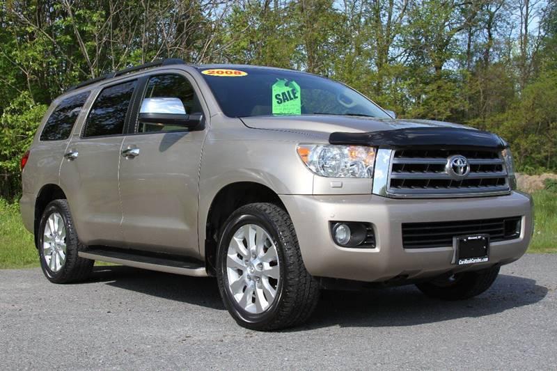 2008 Toyota Sequoia Platinum In Glenmont Ny Car Wash Cars Inc