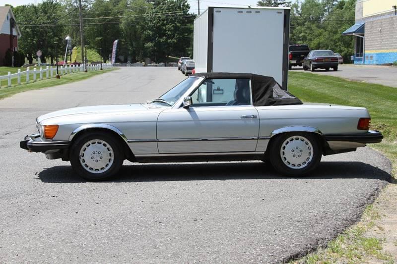 1985 Mercedes-Benz 380-Class 380 SL 2dr Convertible - Glenmont NY