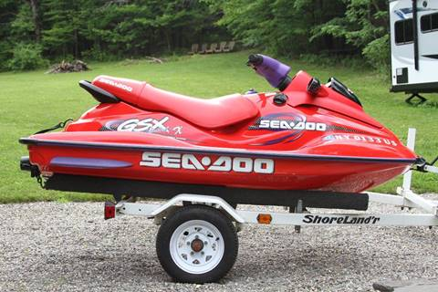 1998 Sea-Doo GSX LIMITED for sale at Car Wash Cars Inc in Glenmont NY