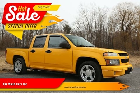 2004 Chevrolet Colorado for sale at Car Wash Cars Inc in Glenmont NY