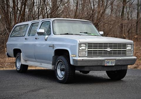 1985 Chevrolet Suburban K10 for sale at Car Wash Cars Inc in Glenmont NY