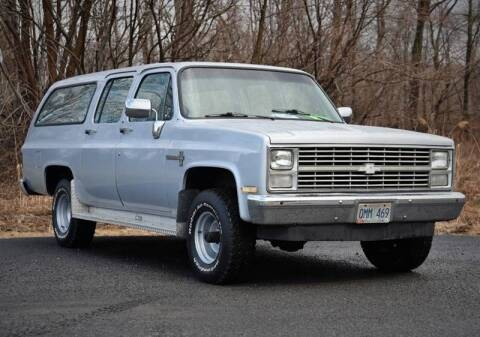 1984 Chevrolet Suburban for sale at Car Wash Cars Inc in Glenmont NY