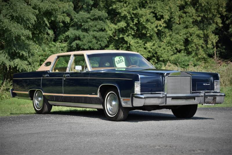 1978 Lincoln Continental for sale at Car Wash Cars Inc in Glenmont NY