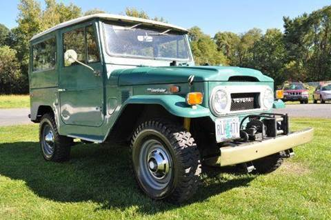 1973 Toyota Land Cruiser for sale at Car Wash Cars Inc in Glenmont NY