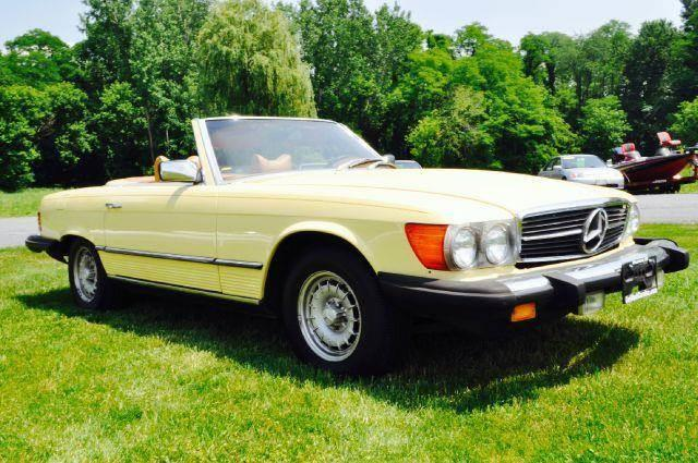 1979 Mercedes-Benz 450 SL for sale at Car Wash Cars Inc in Glenmont NY