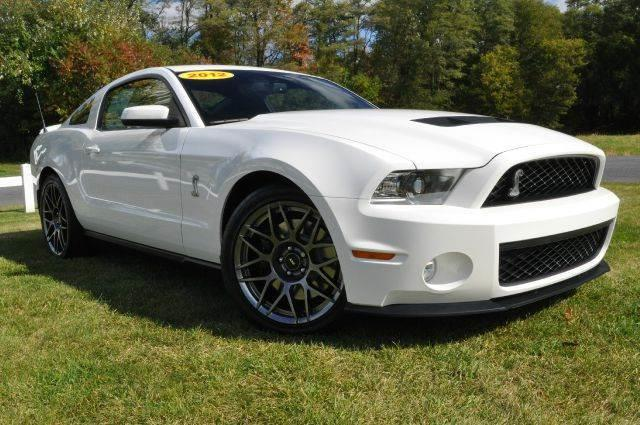 2012 Ford Shelby GT500 for sale at Car Wash Cars Inc in Glenmont NY