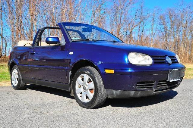 2002 Volkswagen Cabrio for sale at Car Wash Cars Inc in Glenmont NY