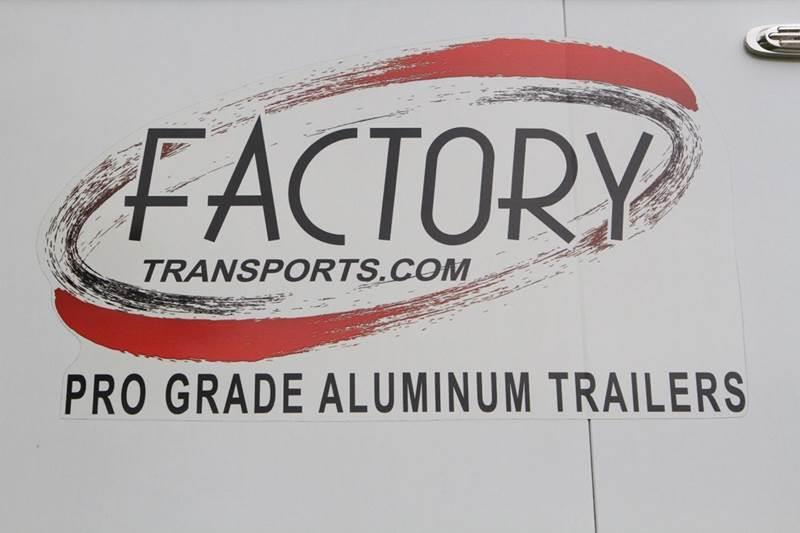 2010 FACTORY TRANSPORTS PRO GRADE ALUMINUM 32' GOOSENECK STACKER - Glenmont NY