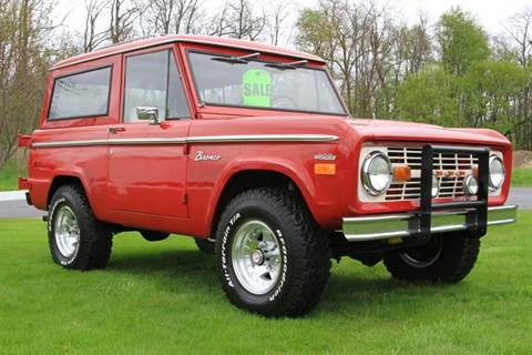 1971 Ford Bronco for sale at Car Wash Cars Inc in Glenmont NY