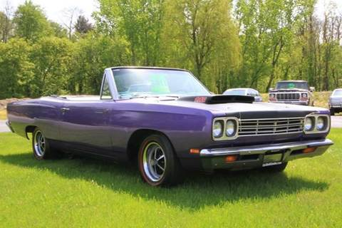 1969 Plymouth Roadrunner for sale at Car Wash Cars Inc in Glenmont NY