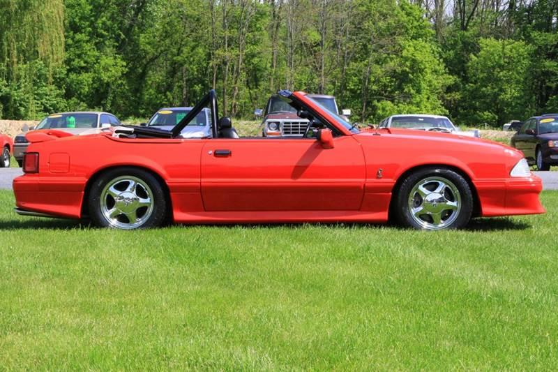 1992 Ford Mustang TURBO 5.0 2dr Convertible - Glenmont NY