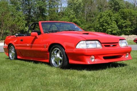 1992 Ford Mustang for sale at Car Wash Cars Inc in Glenmont NY