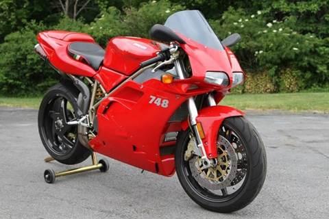 2000 Ducati 748 biposto for sale at Car Wash Cars Inc in Glenmont NY