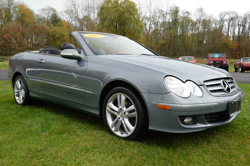 2007 Mercedes-Benz CLK for sale at Car Wash Cars Inc in Glenmont NY