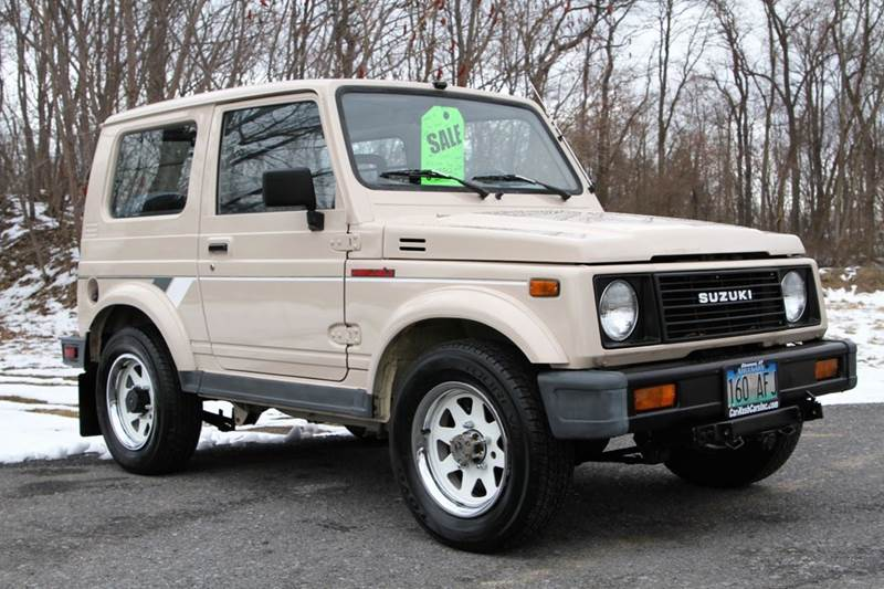 1988 suzuki samurai in glenmont ny car wash cars inc