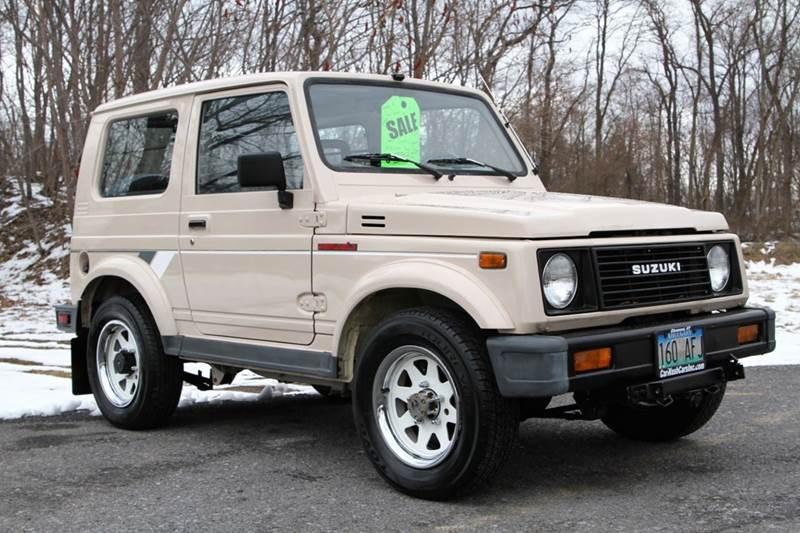 1988 Suzuki Samurai for sale at Car Wash Cars Inc in Glenmont NY