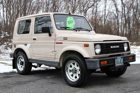 1988 Suzuki Samurai for sale at Car Wash Cars Inc in Glenmont NY
