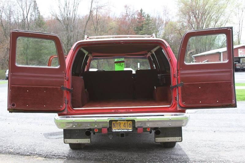 1988 Chevrolet Suburban 4dr V10 4WD SUV - Glenmont NY