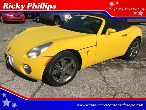 2007 Pontiac Solstice for sale in Ashland, KY