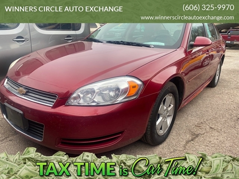 2009 Chevrolet Impala LT for sale at WINNERS CIRCLE AUTO EXCHANGE in Ashland KY