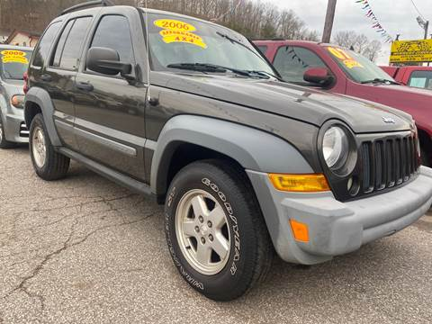 2006 Jeep Liberty Sport for sale at WINNERS CIRCLE AUTO EXCHANGE in Ashland KY