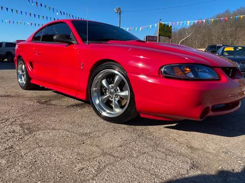 1997 Ford Mustang SVT Cobra for sale at WINNERS CIRCLE AUTO EXCHANGE in Ashland KY