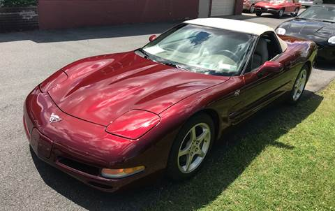 2003 Chevrolet Corvette for sale at R & R Motors in Queensbury NY