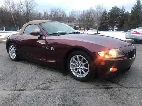 2005 BMW Z4 for sale at R & R Motors in Queensbury NY