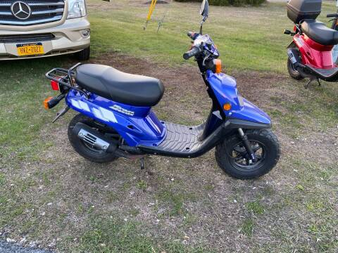 2005 Yamaha Zuma Sport Scoot for sale at R & R Motors in Queensbury NY
