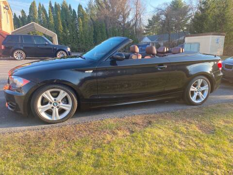 2008 BMW 1 Series for sale at R & R Motors in Queensbury NY