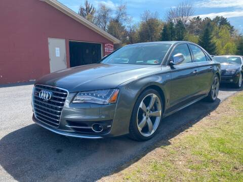 2014 Audi S8 for sale at R & R Motors in Queensbury NY
