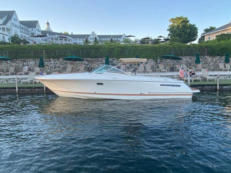 2009 Chris-Craft 33 Corsair for sale at R & R Motors in Queensbury NY