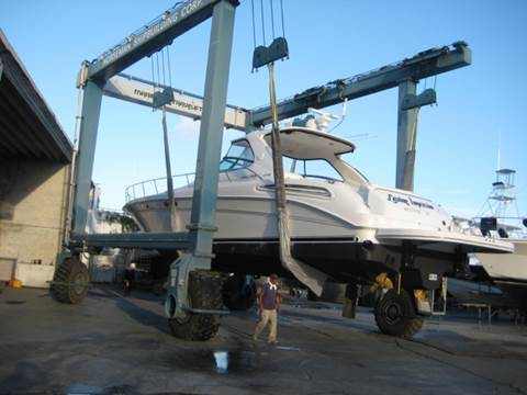 2001 Sea Ray 54 Sundancer for sale at R & R Motors in Queensbury NY