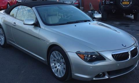 2005 BMW 6 Series for sale at R & R Motors in Queensbury NY