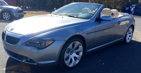2006 BMW 6 Series for sale at R & R Motors in Queensbury NY